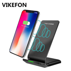 10W Qi Wireless Charger for iPhone X/XS Max 8 Plus