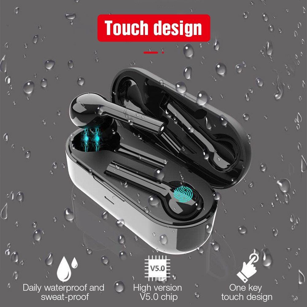 Bluetooth Wireless Earphone Headphones Freebud Touch Control