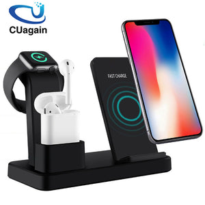 Wireless Charger 3 in 1 Fast Charging