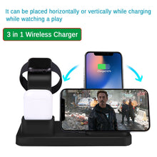 Load image into Gallery viewer, Wireless Charger 3 in 1 Fast Charging