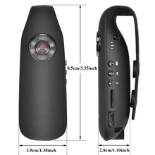 Load image into Gallery viewer, HD 1080P 130 degree Mini Camcorder Dash Cam
