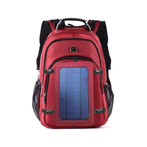 red solar backpack okeegadgets