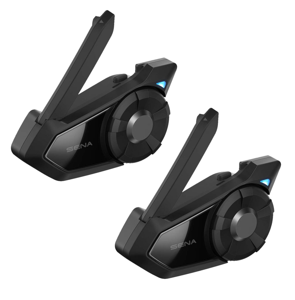 Dual Kit Sena 30K-01D Motorcycle Bluetooth Communication System with Mesh Intercom Dual Pack