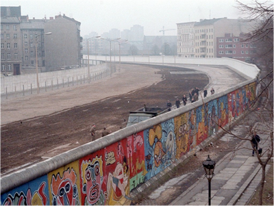 Mapping the Berlin Wall