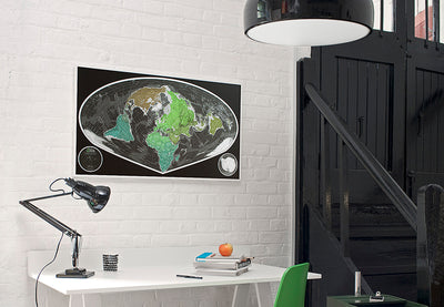 5 Cool Places to Display a Map