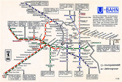 Mapping the Berlin Underground System
