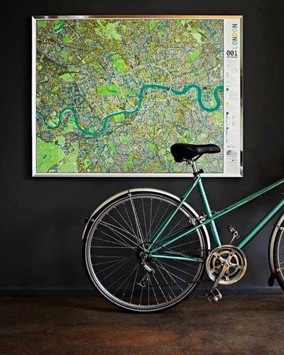 City Maps with Cycle Routes