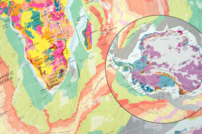 4 facts about our World Geological Map