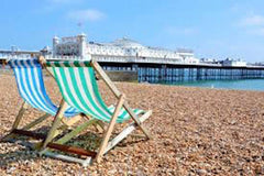 brighton beach, sussex