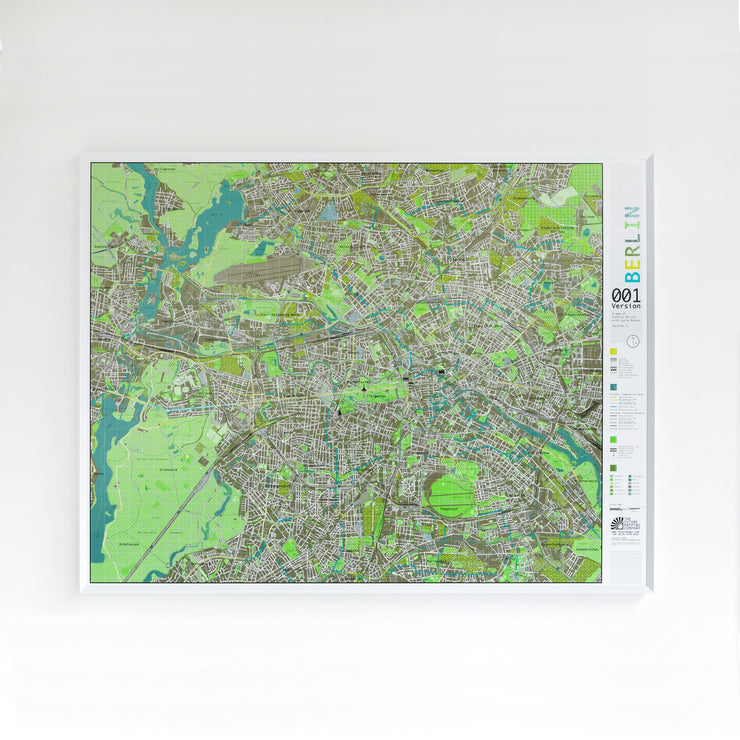 50% Off Paper Berlin City Map