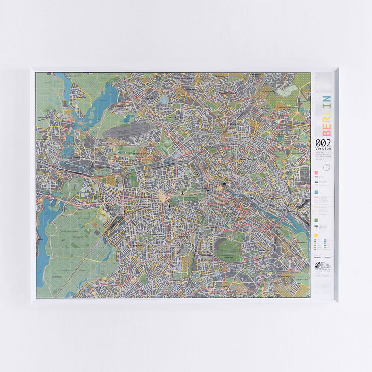 50% Off Magnetic Berlin City Map