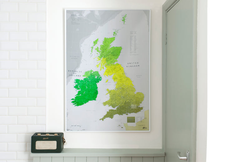 MAGNETIC UK MAP