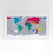 50% Off Paper Classic World Map