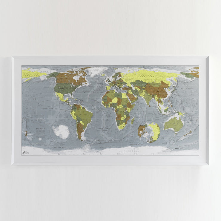 40% Off Framed Map