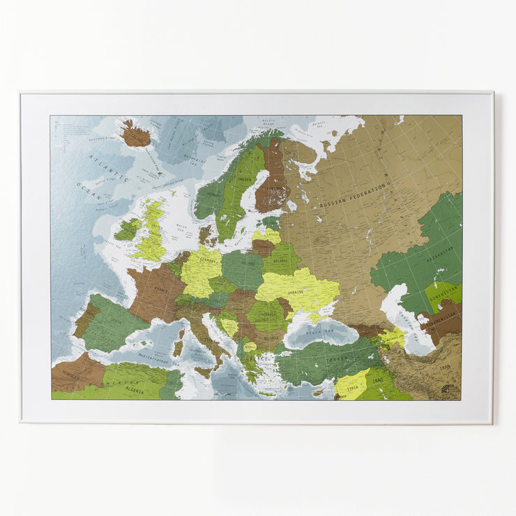 50% Off Magnetic Europe Map