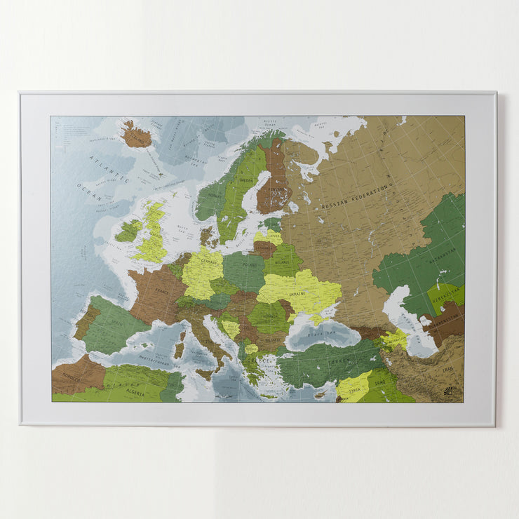 50% Off Paper Europe Map