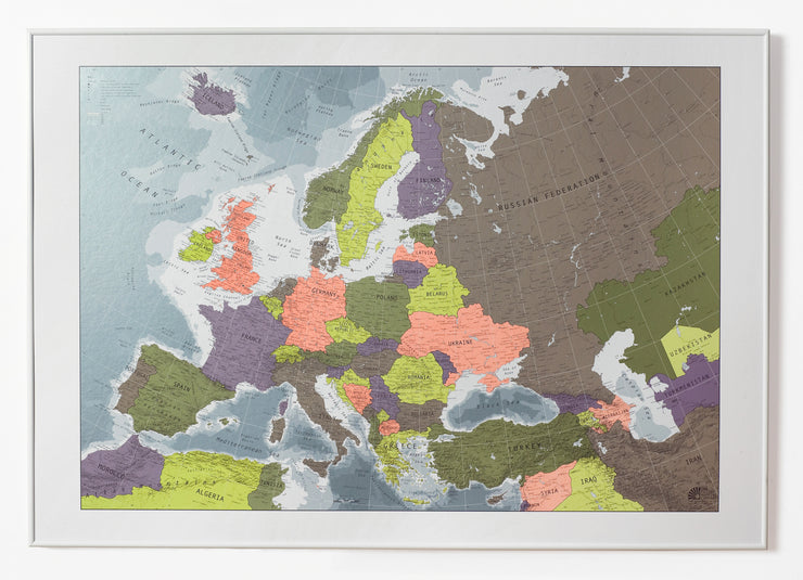 MAGNETIC EUROPE MAP