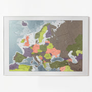 50% Off Plastic Europe Map