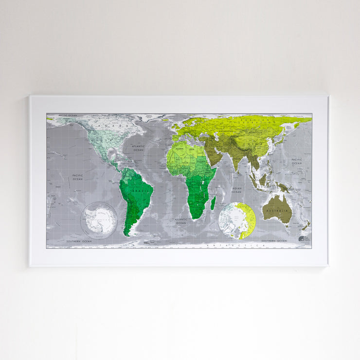 50% Off Plastic Future Map