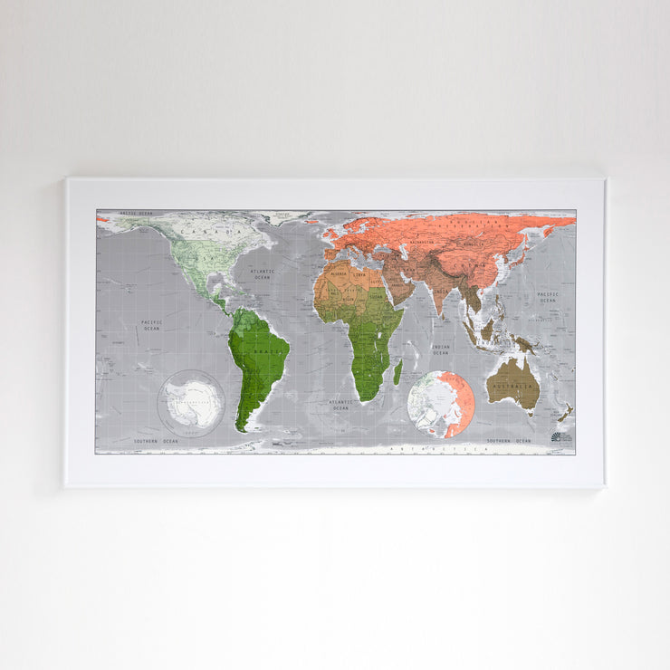 50% Off Paper Future Map