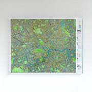 50% Off Plastic London Map