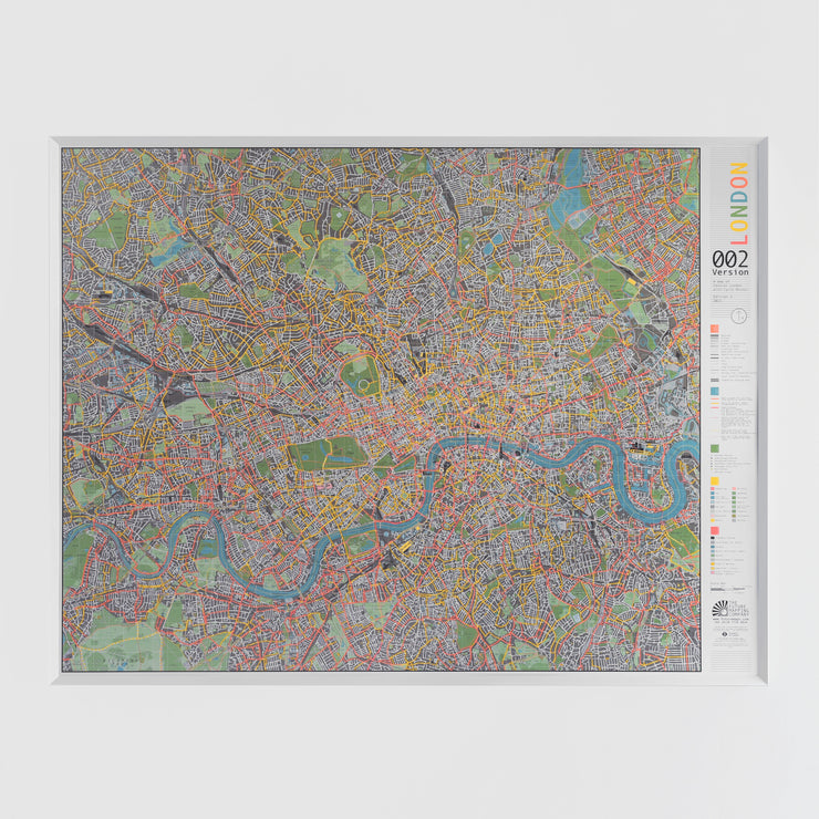50% Off Magnetic London Map