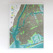 50% Off Plastic New York City Map