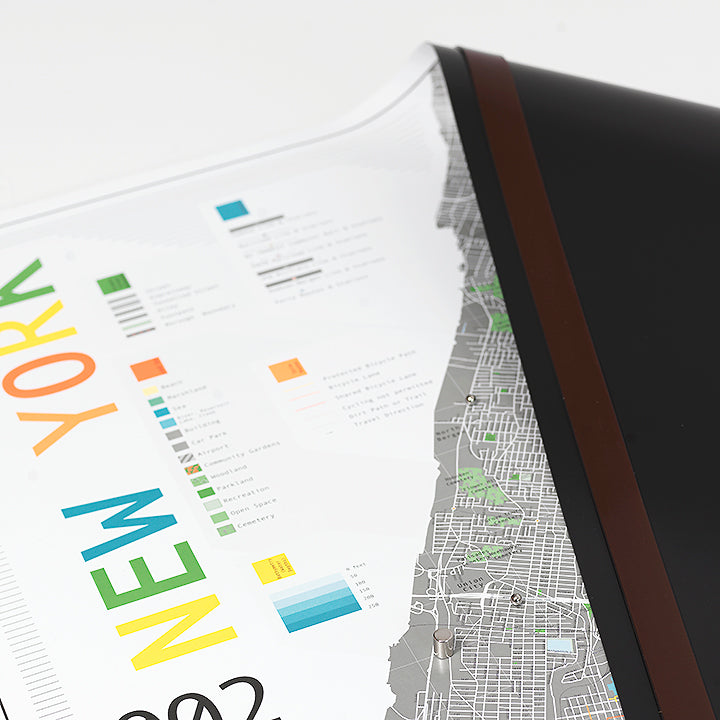 HANGING STRIPS FOR MAGNETIC NEW YORK MAP