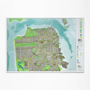60% Off Framed Map
