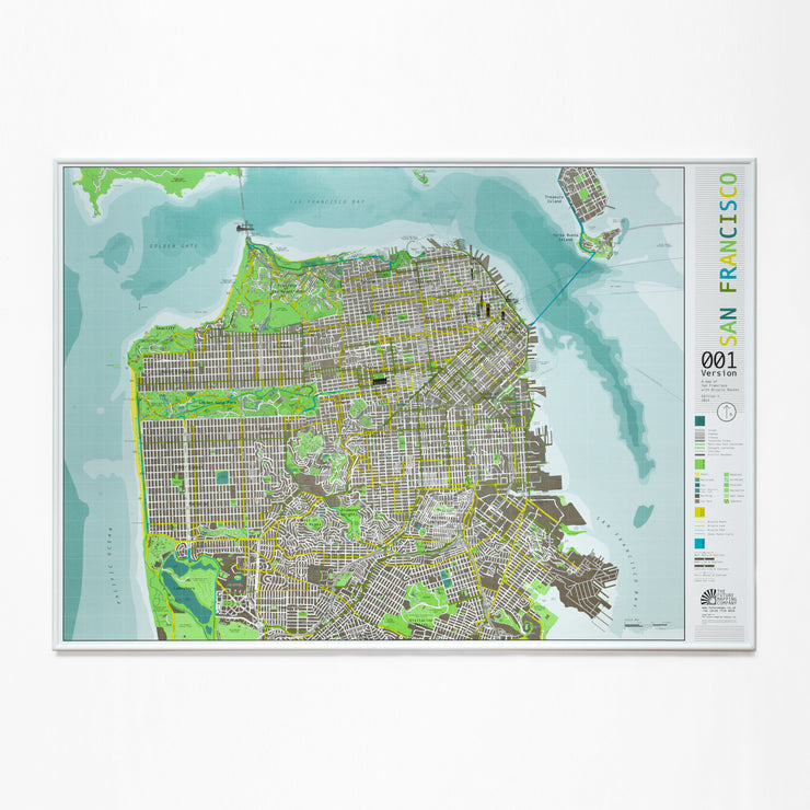 50% Off Magnetic San Francisco Map