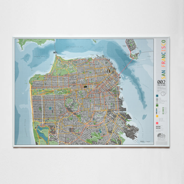 50% Off Paper San Francisco Map