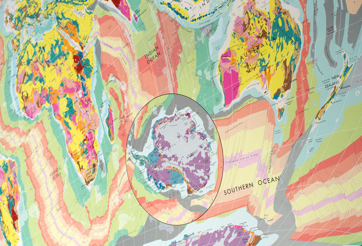 WORLD GEOLOGICAL MAP