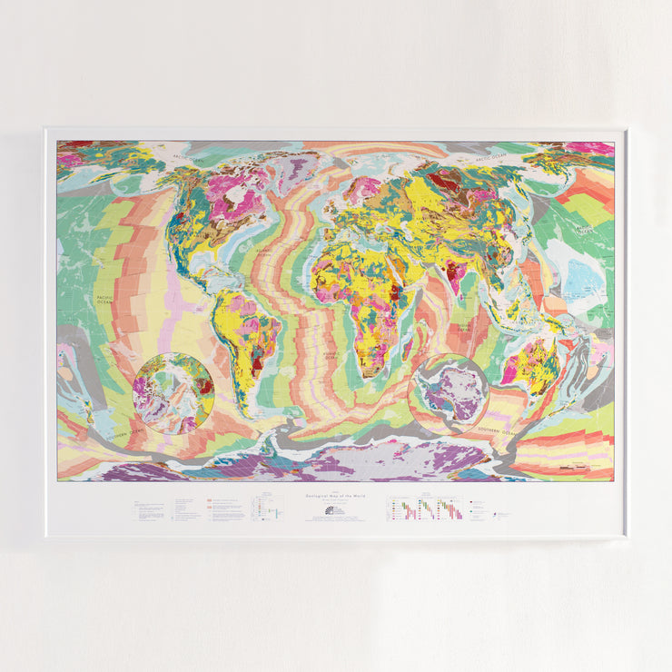 50% Off Plastic Geology Map