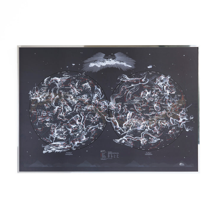 50% Off Magnetic Constellations Map