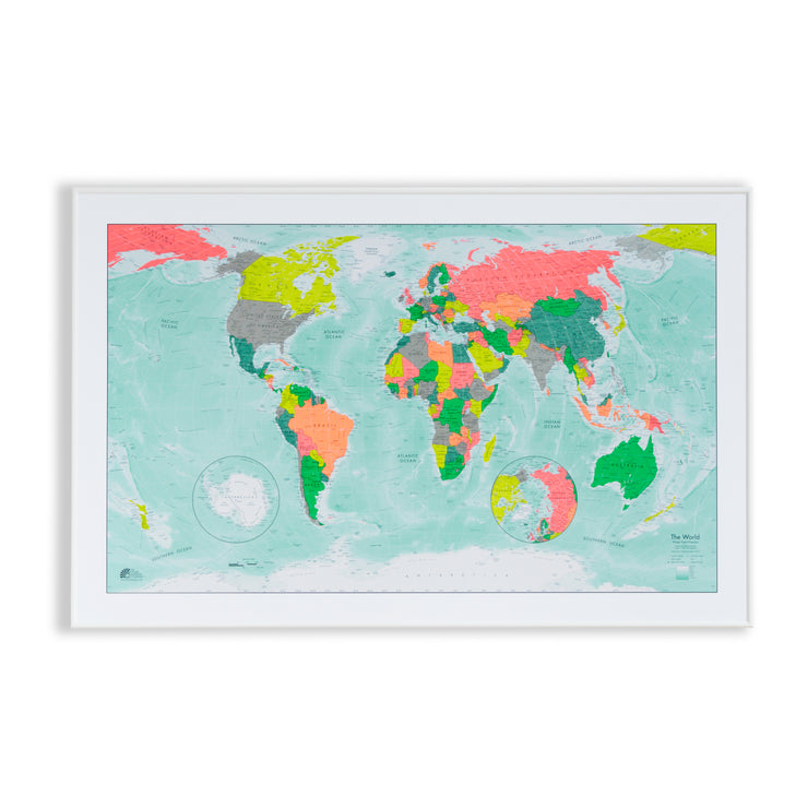 50% Off Magnetic Winkel Tripel World Map