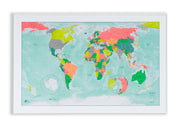 TRAVEL GIFT - MAGNETIC MAP