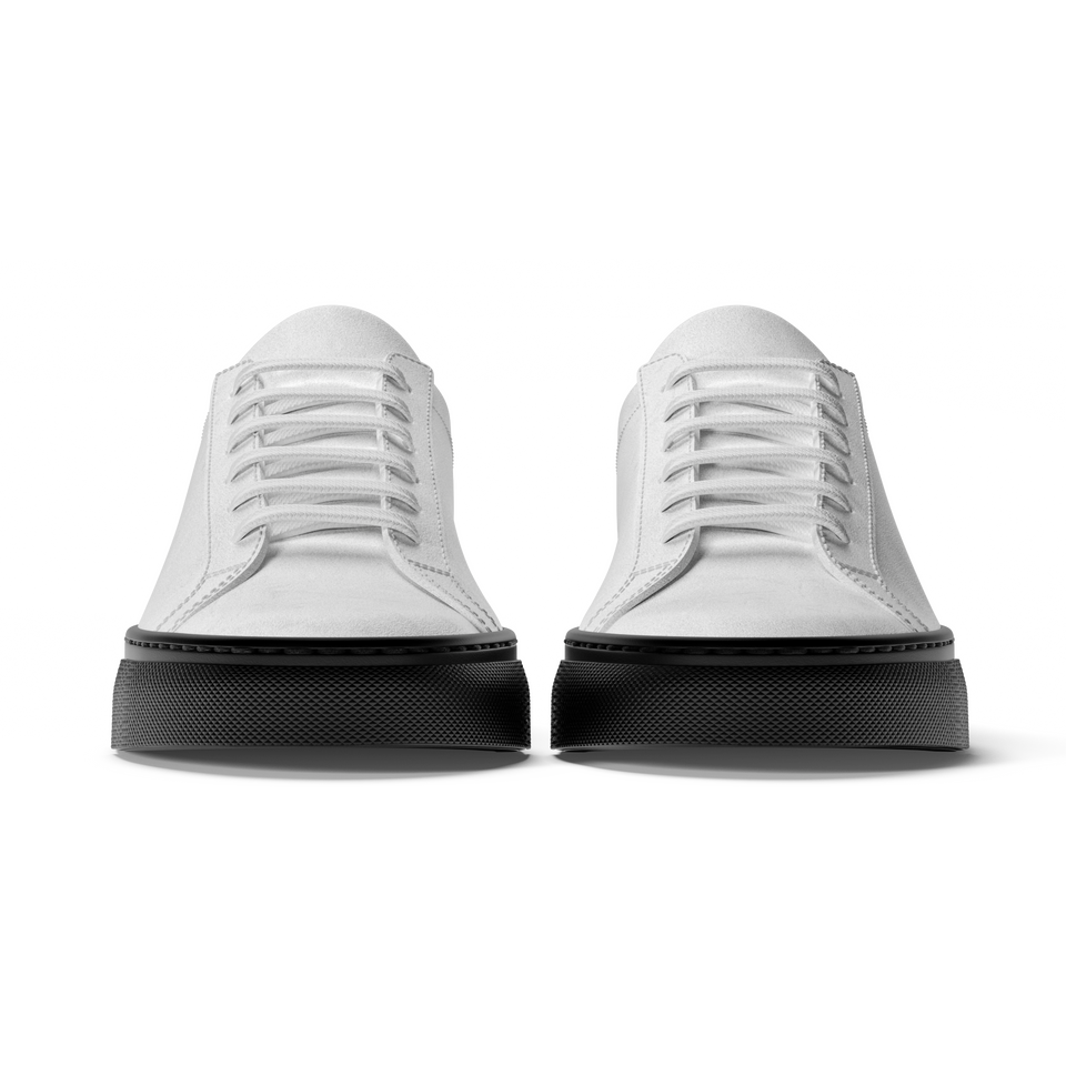 Limited Edition 405 Classic Low Suede in Black/White - Sobos.com