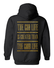 Load image into Gallery viewer, The God Life Hoodie (Black & Gold)