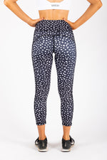 Spotty leggings with pockets back
