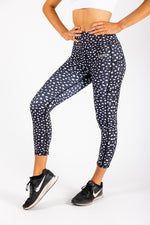 Spotty leggings front