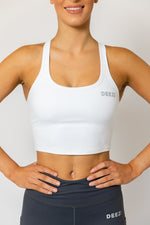 Deezi Active Extended Crop - White