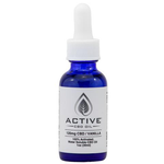 Active CBD Oil Water Soluble Tincture – 1oz 120mg CBD (Vanilla)
