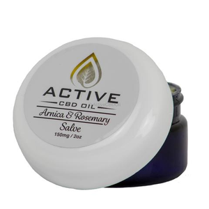 Topical Active CBD Balm - 150mg CBD 2oz