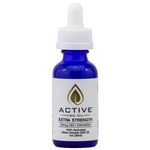 Active CBD Oil Water Soluble Tincture – 1 oz Extra Strength 300mg CBD (Cinnamon)