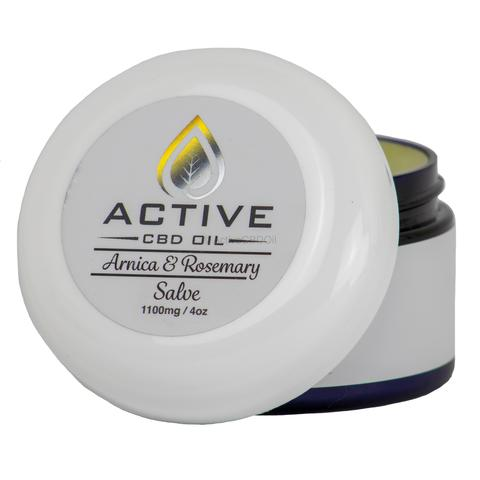 Topical Active CBD Balm - 1100mg CBD 4oz