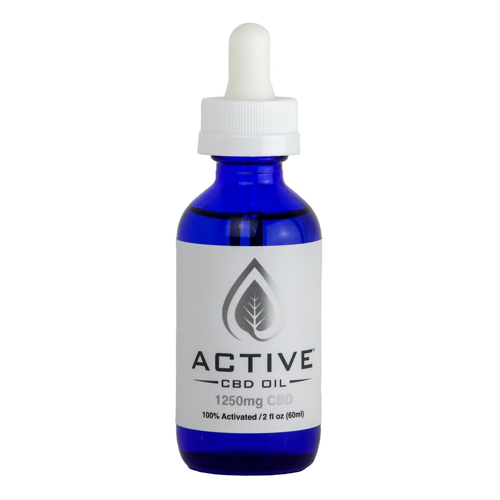 *BEST SELLER* CBD MCT Oil Tincture THC FREE - 1250mg Tincture
