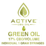 Green 17% Active CBD Oil