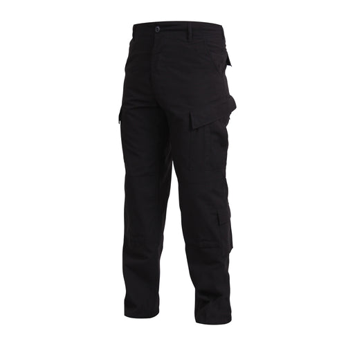 Rothco Combat Uniform Pants - Black, 2XL