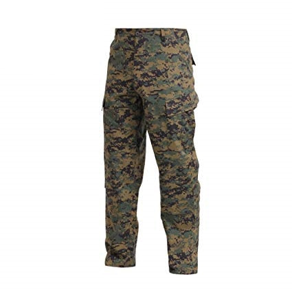 Rothco Woodland Digital BDU Pants - 2XL