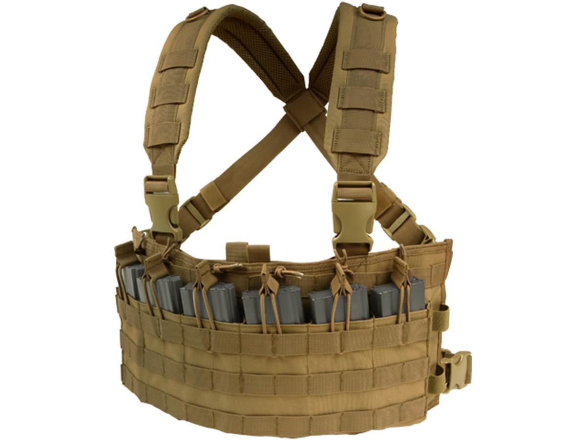 Condor Rapid Assault Chest Rig Tan